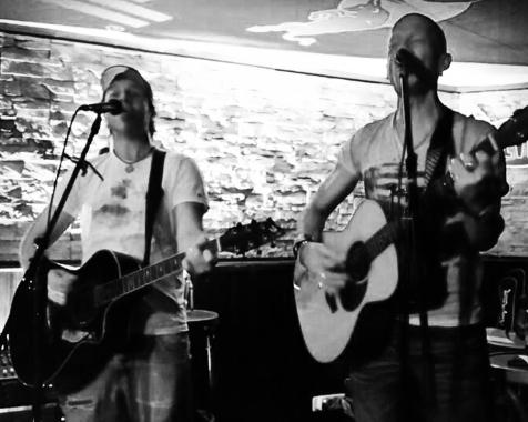 Jason Foley & Olli Hellfire im John O´Groats 2014
